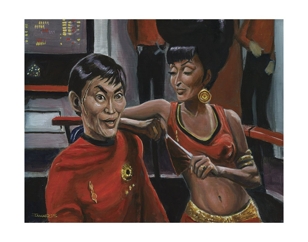 "Image of ""Oh My!"" Print (inspired by the Original ""Star Trek"")"