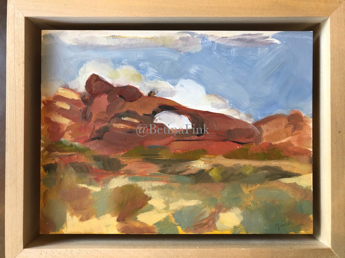 "Image of ""Arches"" Plein Air"