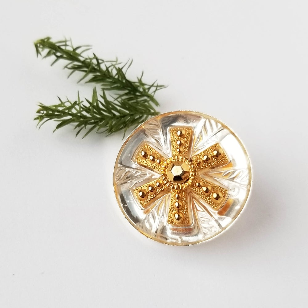 Image of Vintage Snowflake Pin (One of a Kind)