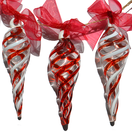 Image of Set of 3 Ornaments