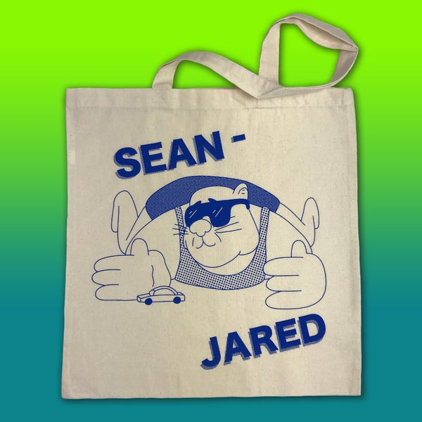Sean Jared tote bag - Sick Animation Shop