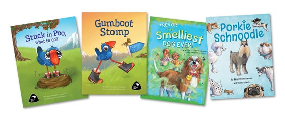 Image of 4 Book Combo