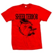 "Image of SHEER TERROR ""Bulldog Style"" Red T-Shirt"