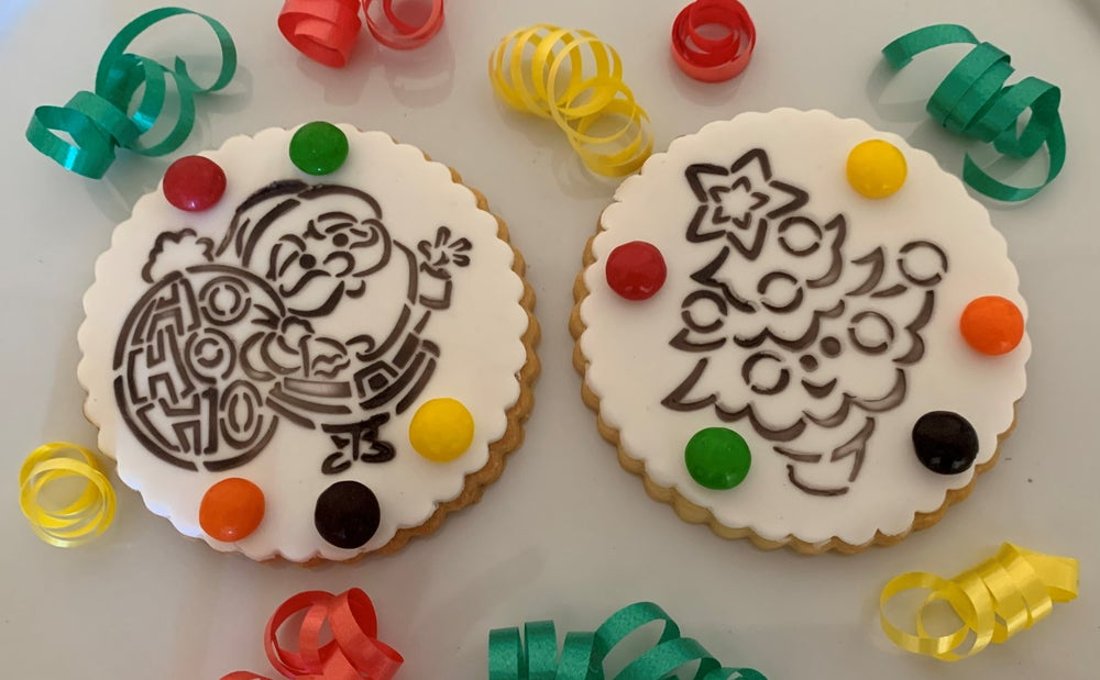 Image of Paint Your Own Cookies - Christmas
