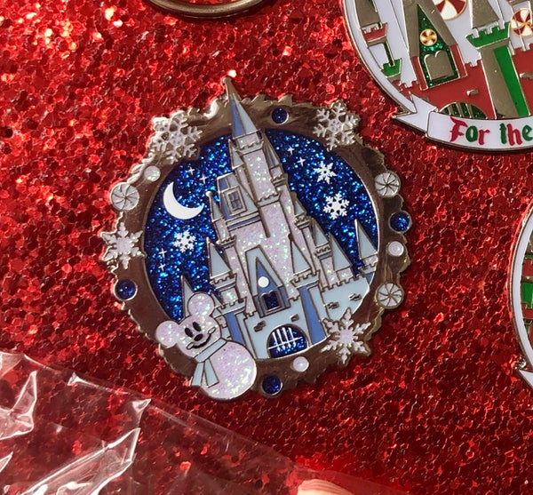Image of Snow Castle - Enamel Pin