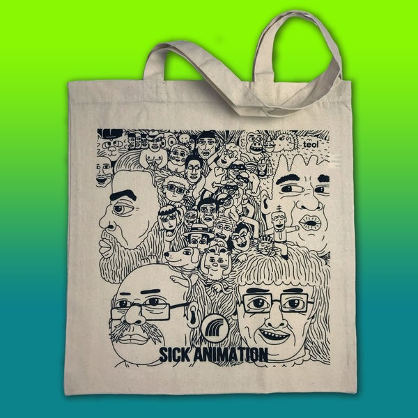 Revolver tote bag - Sick Animation Shop