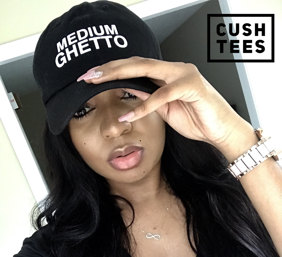 Image of Medium Ghetto (Dad Hat)