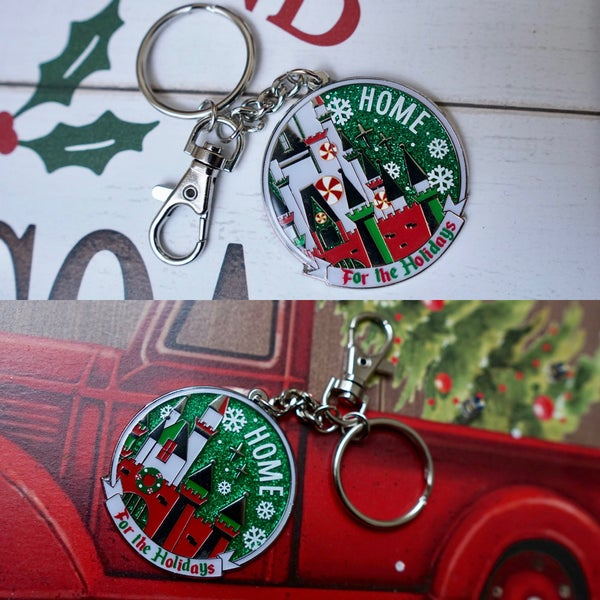 Image of Home For the Holidays - Keychain