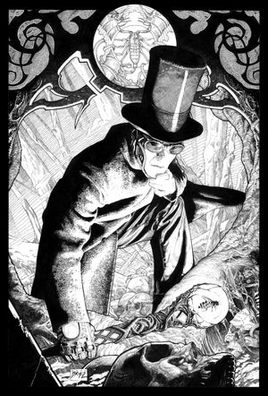 Image of Victorian: Into the Graveyard- 13x19 Limited Print (signed)