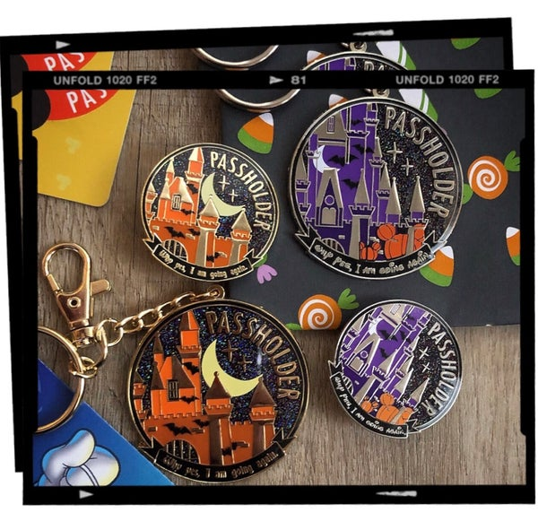 Image of Halloween AP - Keychain or Pin