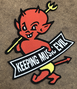 Image of Toadies - Keeping Music Evil Patch