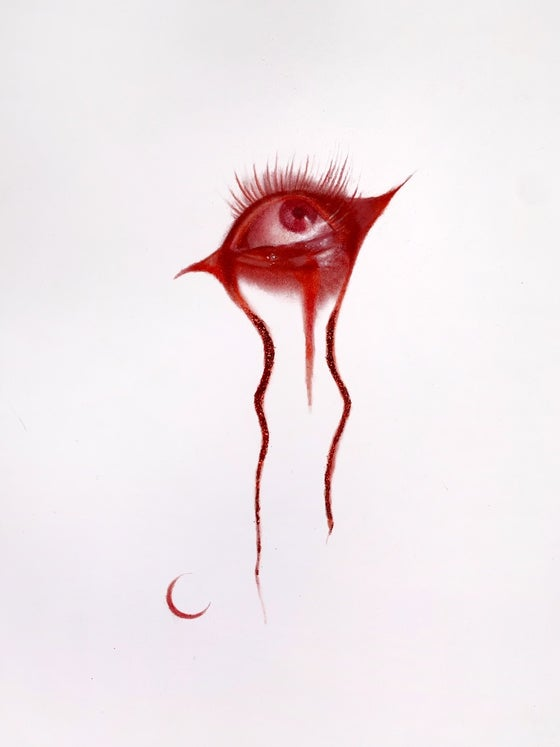 Image of Red Eye original drawing
