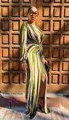Image of Da Vinci Maxi Dress Green