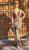 Image of Da Vinci Maxi Dress Orange