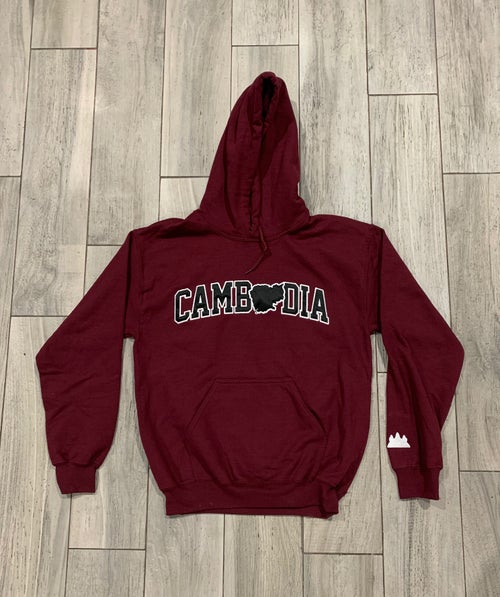 Image of Embroidered Cambodia Hoodie