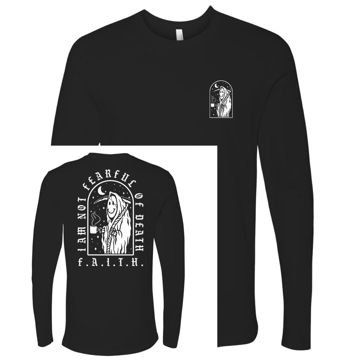 "Image of ""Reaper"" Long Sleeve Tee"