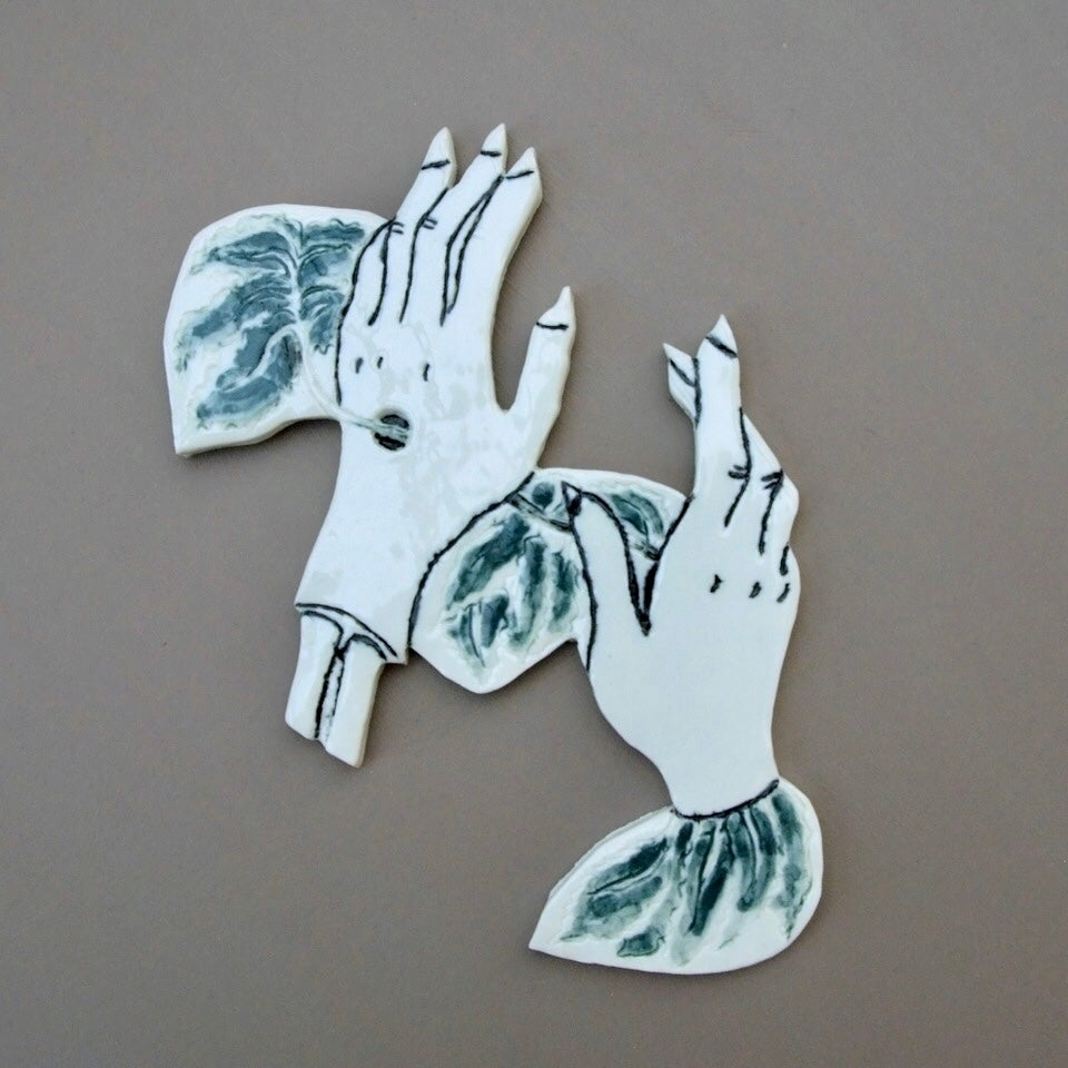 Image of Green hands
