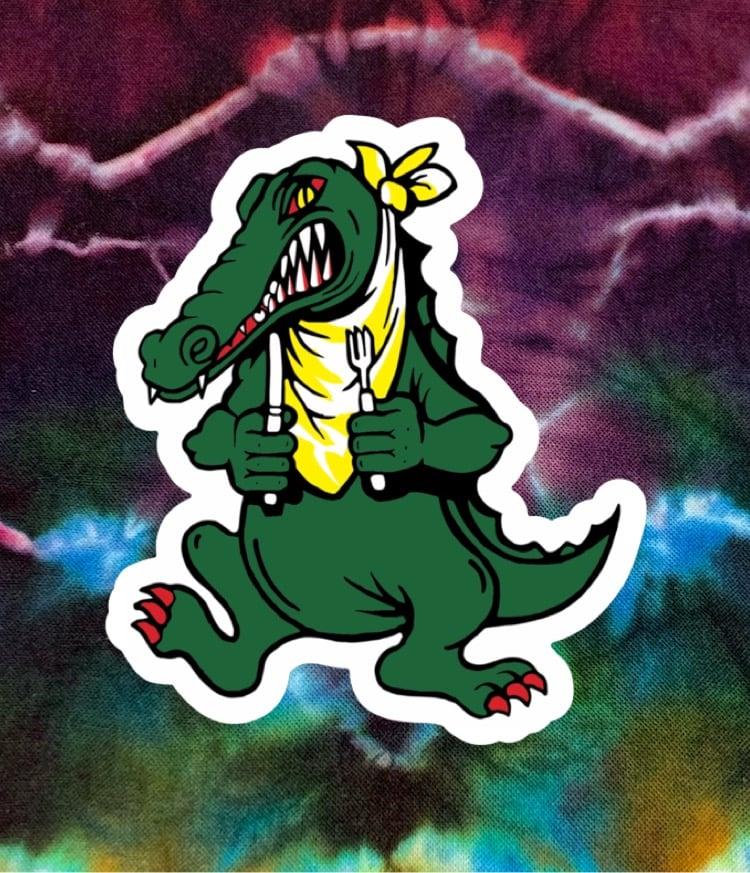 Alligator Stickers!
