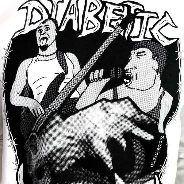 Diabetic Hippo long sleeve - Sick Animation Shop