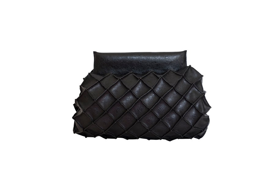 Image of Pineapple clutch S - Black