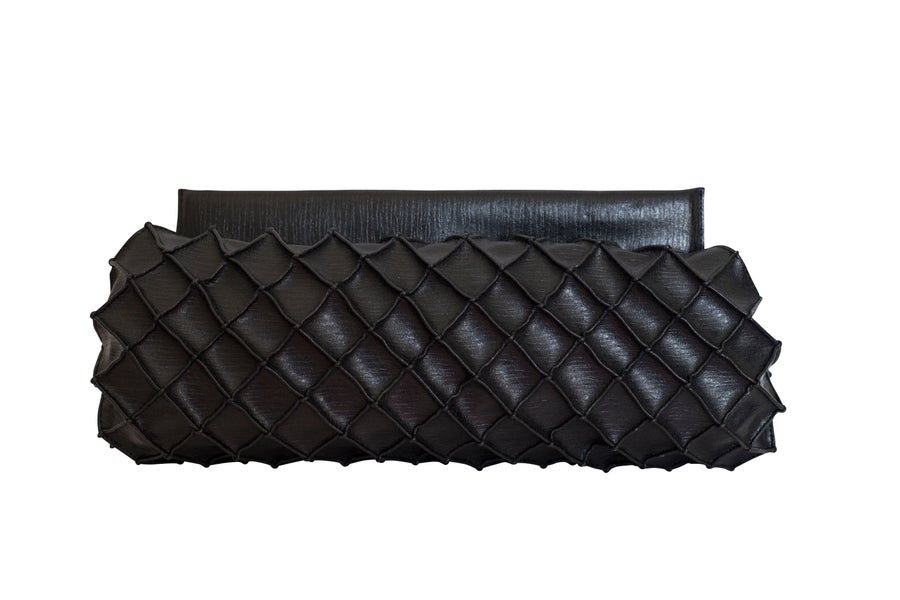 Image of Pineapple clutch L- Black