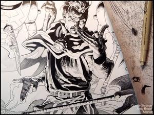 """Image of Dr Strange (Ink)- 13x19 Limited Print (signed) <font color=""""red"""">SOLD OUT</font>"""