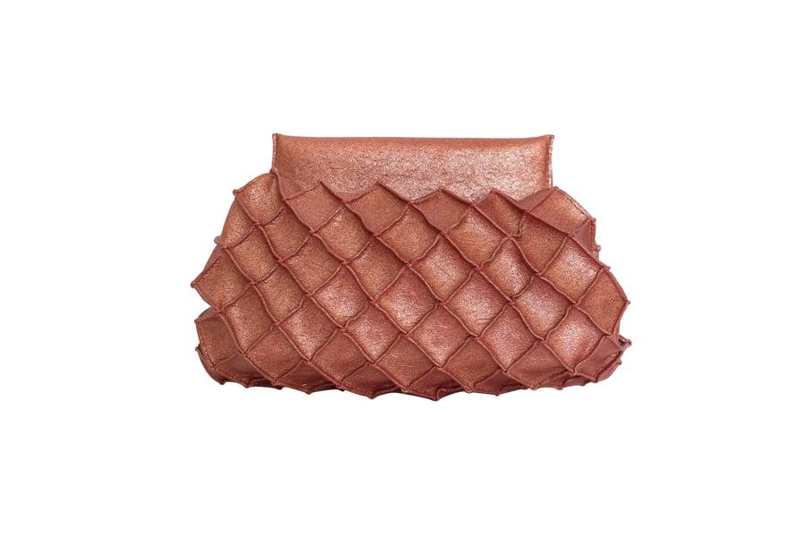 Image of Pineapple clutch S - Rust