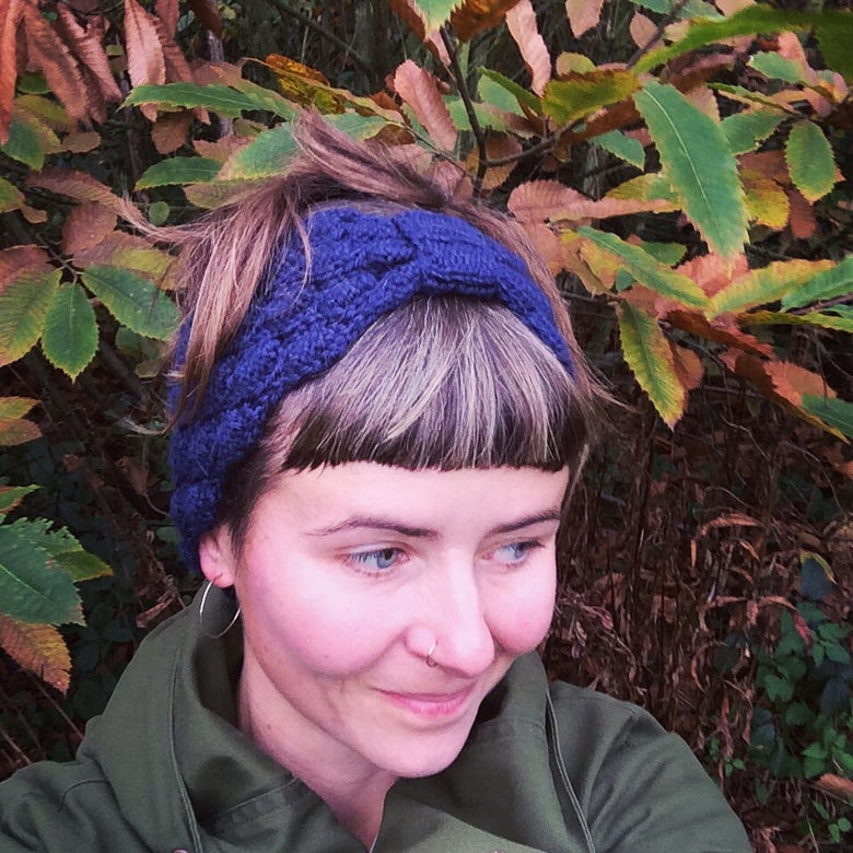 Image of Navy Blue Head Band