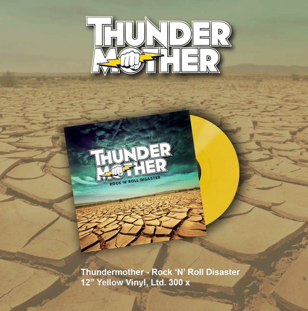 Image of Thundermother - Rock 'N' Roll Disaster (Yellow LP)