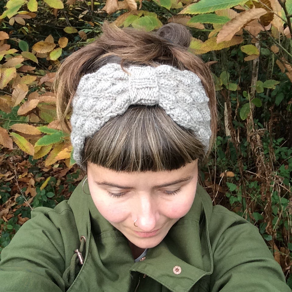 Image of Natural Grey Head Band