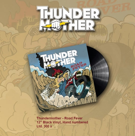 Image of Thundermother - Road Fever (Black Limited LP)