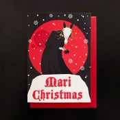 Image of Mari Christmas greeting cards - 4 pack