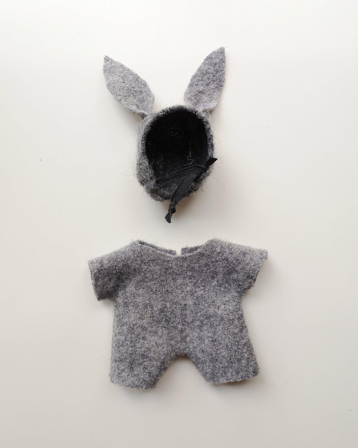 "Image of Petit grognon, ""little bunny"" grise"