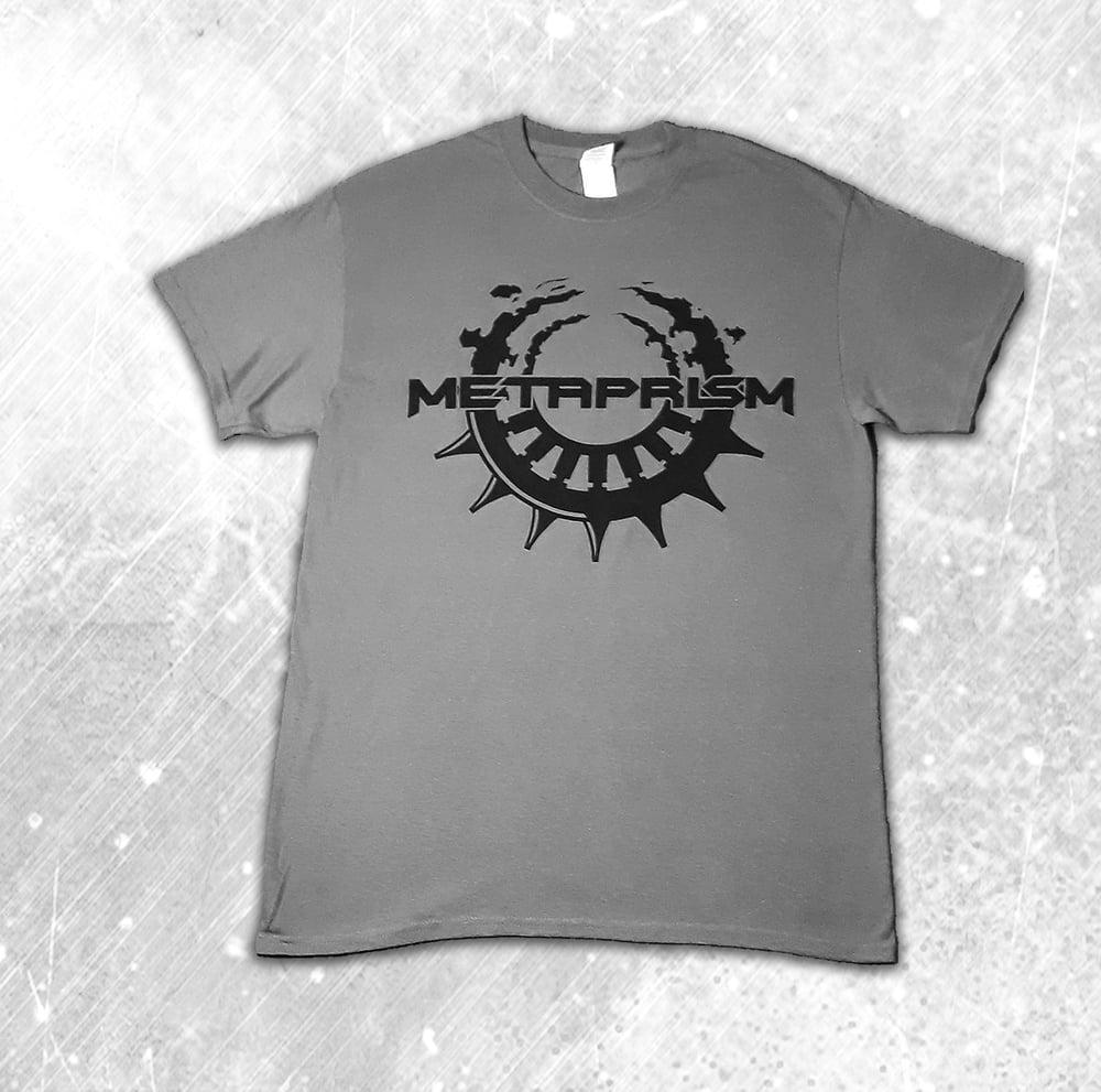 Image of Metaprism Grey Logo T-Shirt