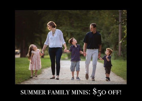 Image of BLACK FRIDAY Summer Mini Session with print credit