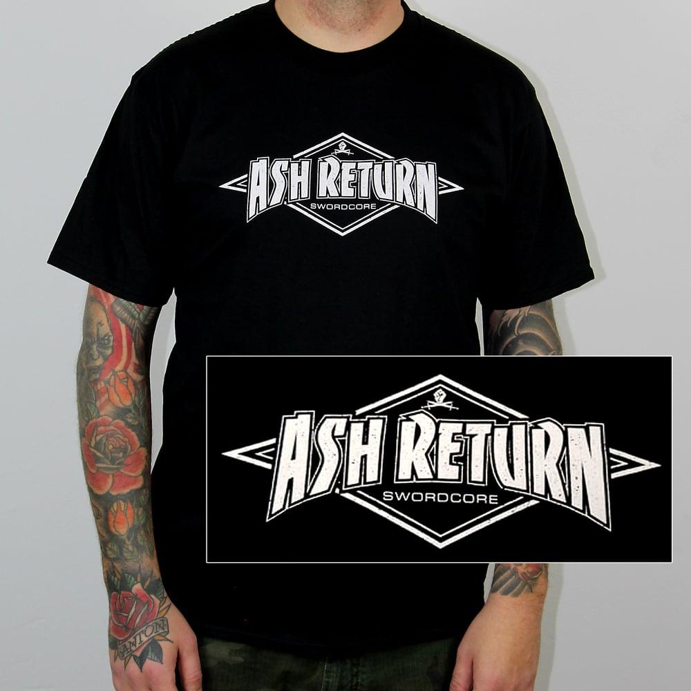 """Image of ASH RETURN - """"Swordcore"""" T-Shirt"""