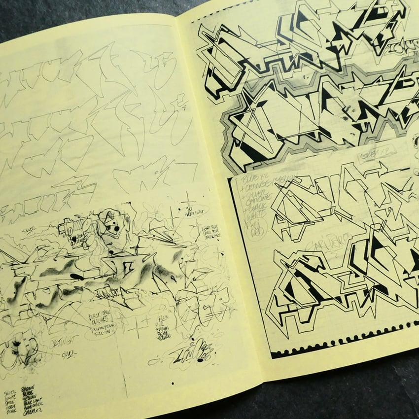 Image of Ultra Blueprints #4 Long Sleeves