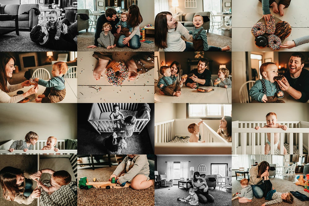 Image of In-Home Lifestyle Storytelling Sessions 2020- January- April- $449 Total Investment