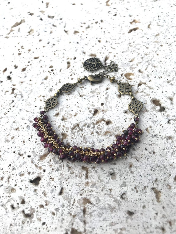 Image of Bracelet pampilles POKHARA