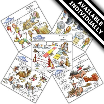 Image of Mark Bardsley Country Show stamp collection