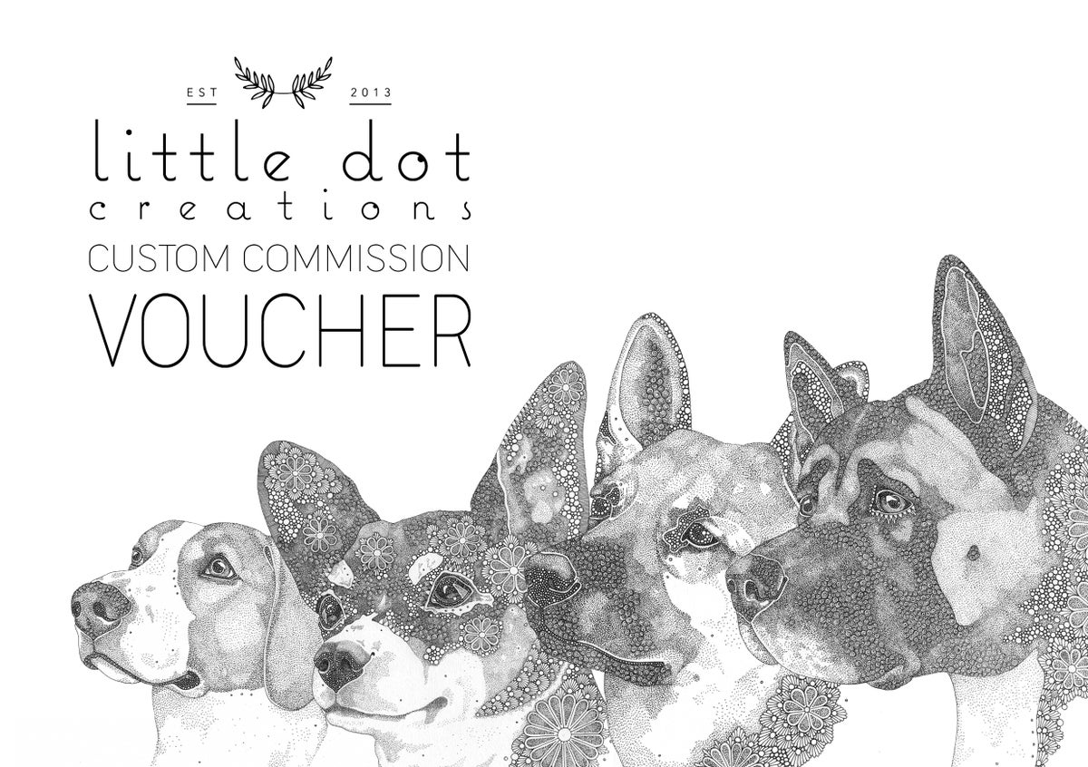 Image of Custom Commission Voucher