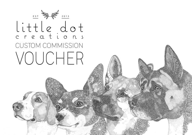 Image of Custom Commission Voucher