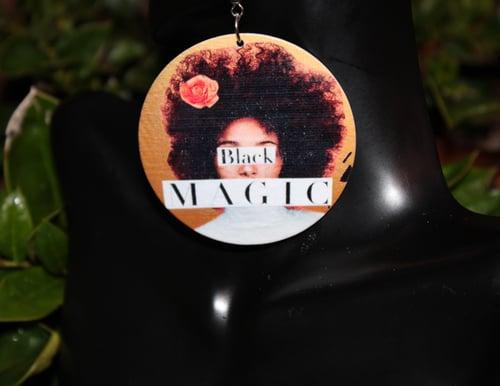 Image of Black Women = Magic