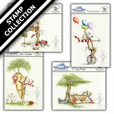 Mulberry Mouse and Friends Stamp Collection 1