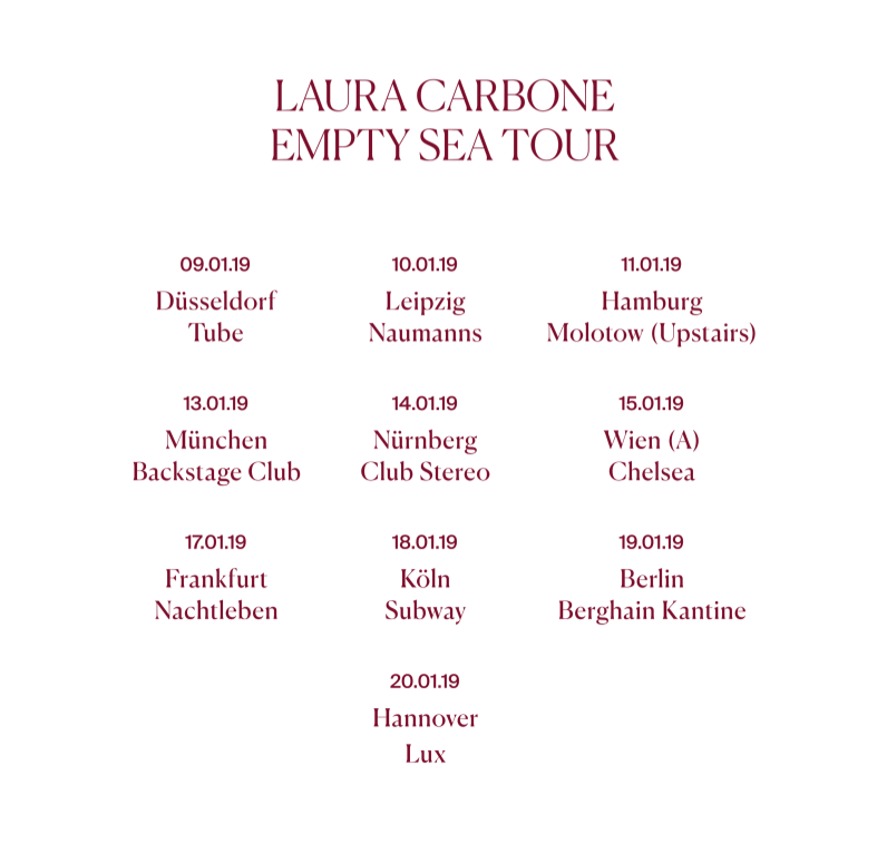 Image of EMPTY SEA TOUR Shirt