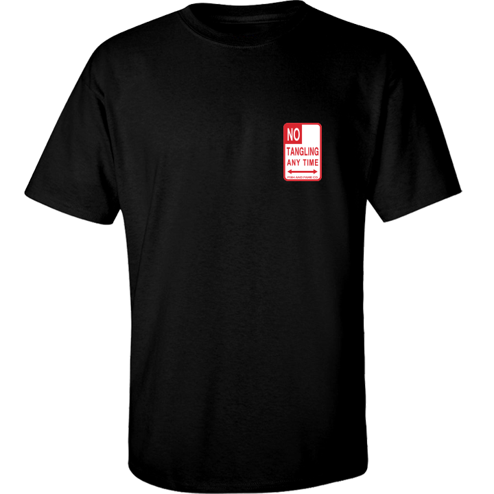 Image of No Tangling Tee (black)
