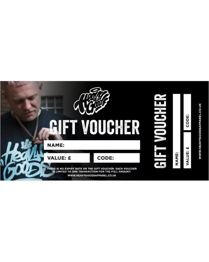 Image of Heavy Goods Gift Vouchers