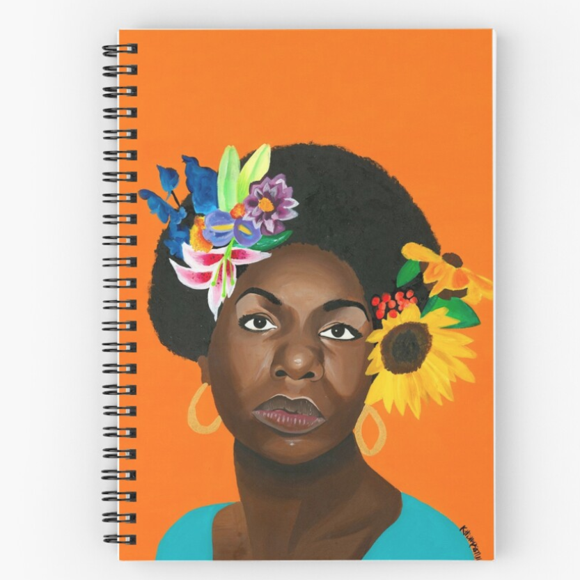 Image of Nina en Printemps (Notebook)