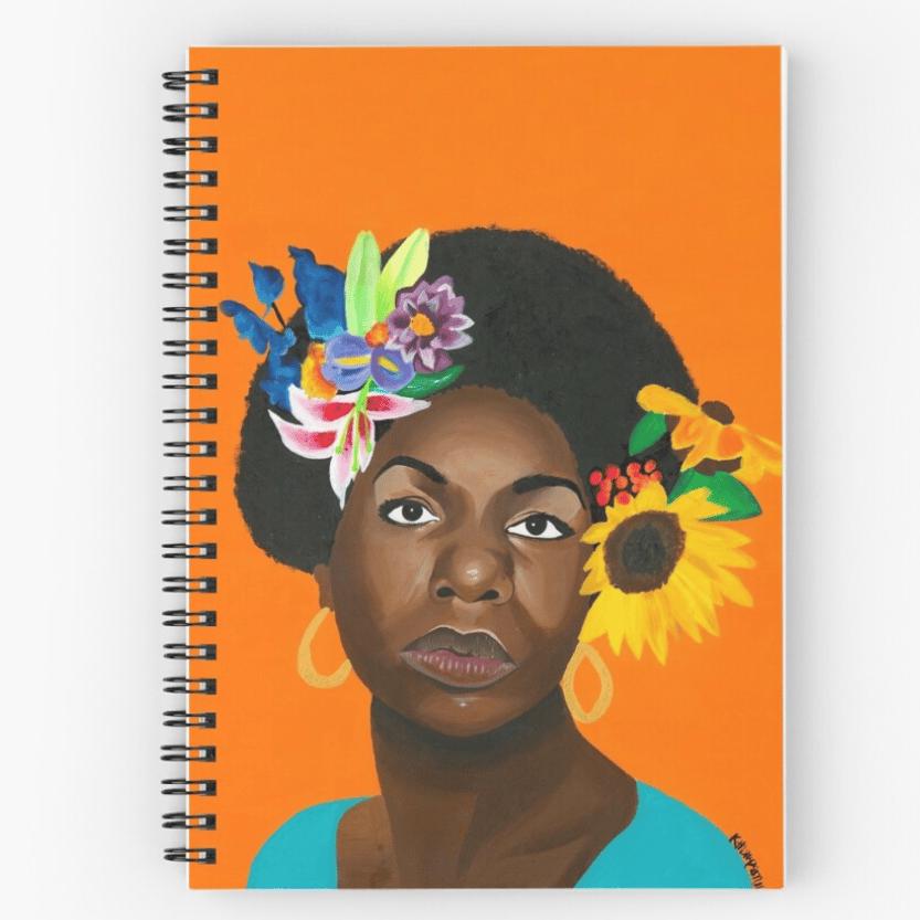 Image of Nina en Printemps (Notebook)
