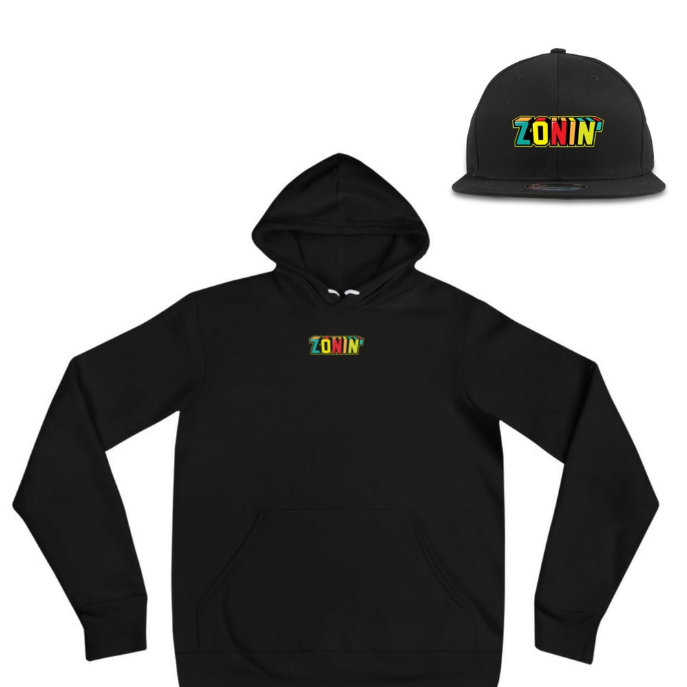 Image of Zonin' Champion Embroidery Hoodie & Hat